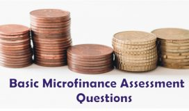 Basic Microfinance Assessment Questions