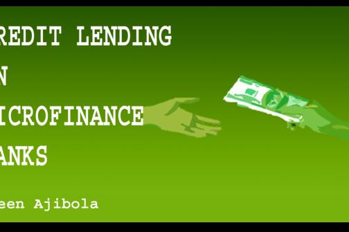 Credit Lending Tools For Microfinance Banks