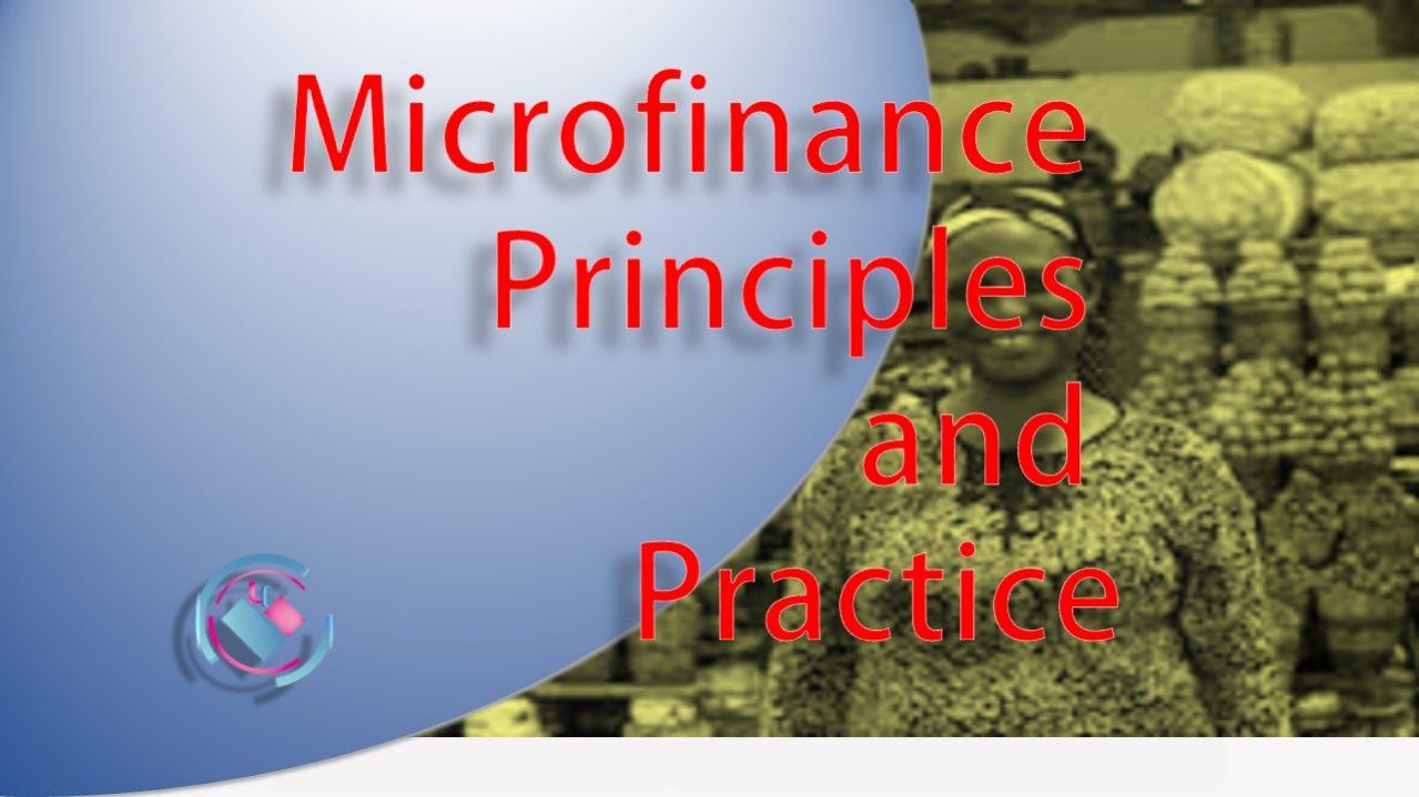 Microfinance Principles and Practice
